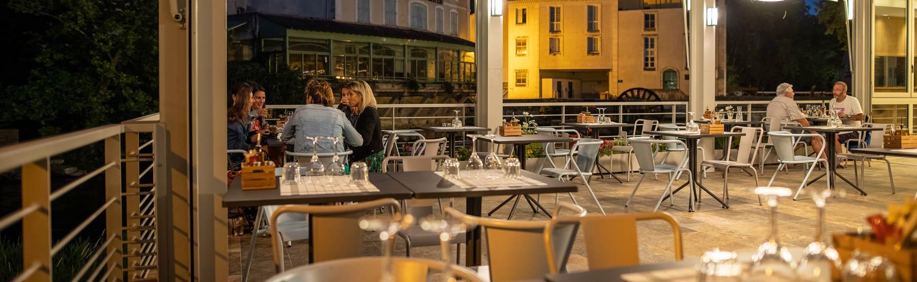 Le restaurant Grand Café Les Terrasses