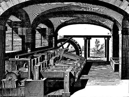 Un moulin à papier au XVIIIe siècle