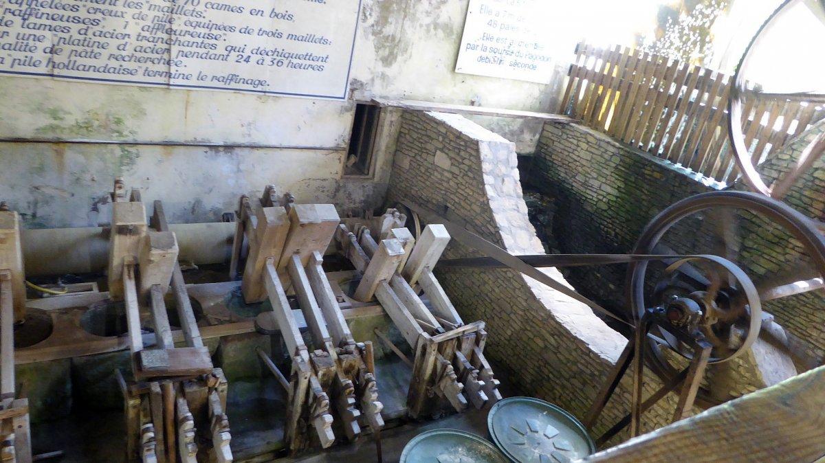 Le moulin à papier de Fontaine de Vaucluse